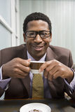 Man Drinking Coffee Royalty Free Stock Photos