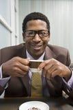 Man Drinking Coffee Royalty Free Stock Photos
