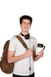 Man drinking coffee. Stock Photography