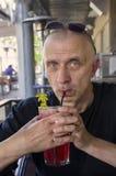 Man Drinking Royalty Free Stock Photos