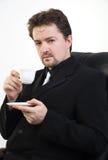 Man drinking tea Royalty Free Stock Photos