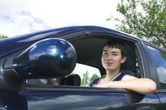 Man driver Royalty Free Stock Photo