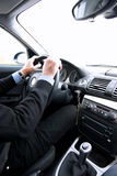 Man driving Stock Images