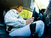 Man Driving  Stock Photos