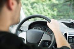 Man Driving Car Stock Images