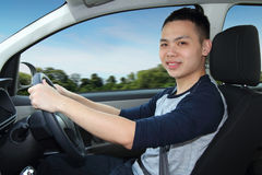 Man driving car Royalty Free Stock Photography