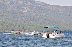 Careless Boating Stock Photo