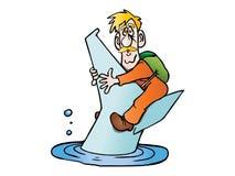 Man drowning Royalty Free Stock Photos
