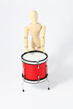 man with drum Royalty Free Stock Photos