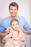 Fatherhood Royalty Free Stock Photos
