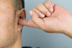 Man ear Royalty Free Stock Images