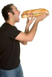 Man Eating Food Royalty Free Stock Image