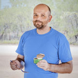 Man eating Stock Images