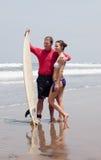 Man embraces the girl Royalty Free Stock Photos