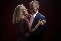 Man en vrouw Stock Afbeeldingen