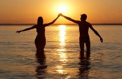 Man en vrouw Royalty-vrije Stock Fotografie