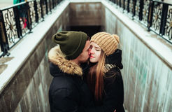 Man en Vrouw Royalty-vrije Stock Foto