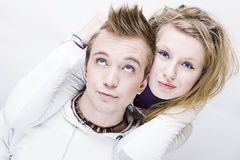 Man en vrouw samen Royalty-vrije Stock Fotografie