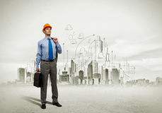 Man engineer Stock Photography