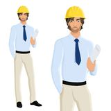 Man engineer portrait Royalty Free Stock Photography