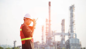 The man engineer at power plant, Stock Photos