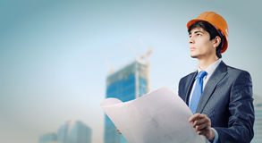 Man engineer Stock Photo