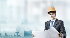 Man engineer Royalty Free Stock Photo