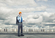 Man engineer Royalty Free Stock Photography