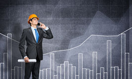 Man engineer Stock Images