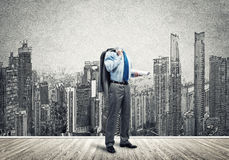 Man of engineering profession Royalty Free Stock Images