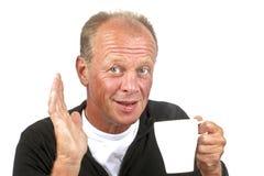 Man enjoying his coffee Royalty Free Stock Photography