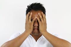 Man enraged Stock Image