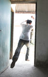 Man escape Stock Images