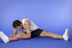 Man Excercising Royalty Free Stock Photography