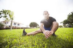 Man exercise Stock Images
