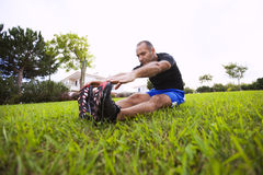 Man exercise Royalty Free Stock Photo