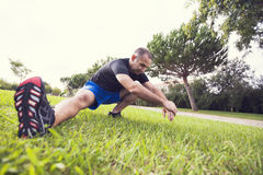 Man exercise Royalty Free Stock Photography