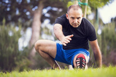 Man exercise Royalty Free Stock Photos