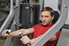 Man exercising Stock Image