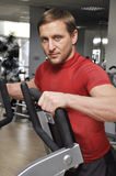 Man exercising Stock Photo