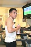 Man exercising stock photo