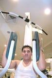 Man exercising stock photography