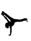 Man exercising gymnastics Stock Photos