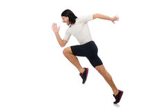 Man exercising Royalty Free Stock Images