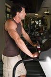 Man Exercising On Treadmill Royalty Free Stock Image