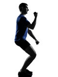 Man exercising workout Royalty Free Stock Image