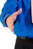 Man extending handshake
