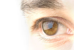 Man eye Stock Photos