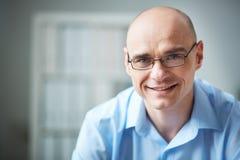 Man in eyeglasses stock photos