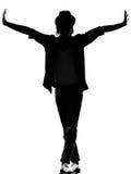 Man för dans för dansare för höftflygturfunk royaltyfri bild